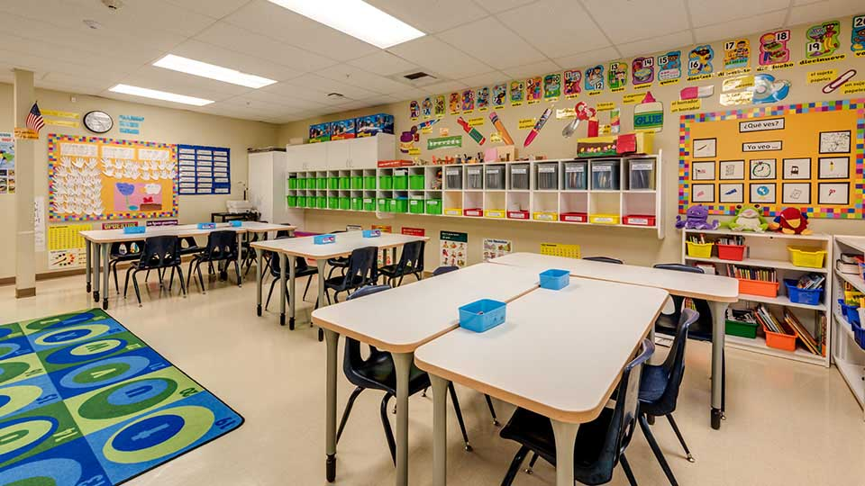 Vct flooring, classroom furniture, school design, school building design, design of school building