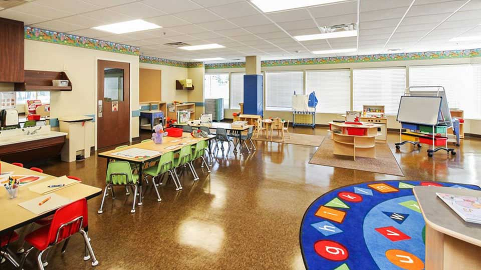 Lithonia 2sp5, classroom rug, circle time rug, preschool furniture, community playthings furniture, daycare design, day care center design, childcare design, child care design, child care centre design, child care interior design, child care architect