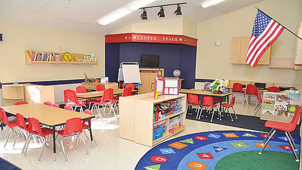 Daycare design in tampa fl calbert design group for Interior decorating school tampa