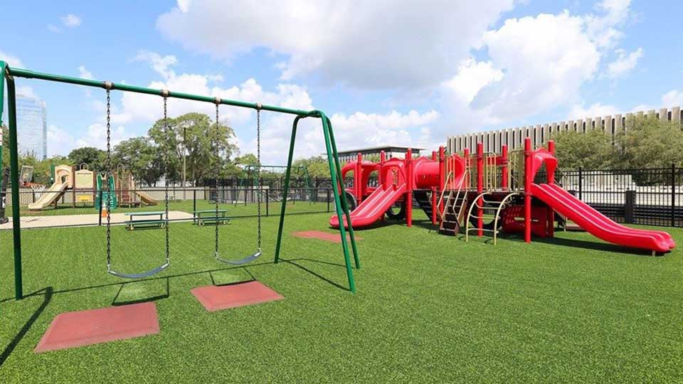 Little tike fire truck, swing sets, xgrass, levy park, childcare design, child care design, child care centre design, child care interior design, child care architect daycare design, day care center design,