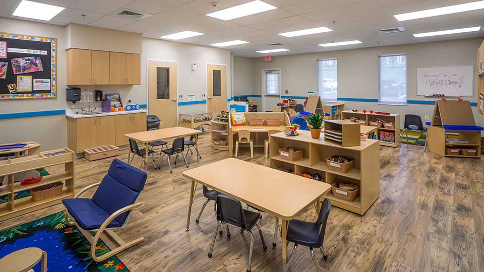 Bruce flooring, daycare design, day care center design, childcare design, child care design, child care centre design, child care interior design, child care architect