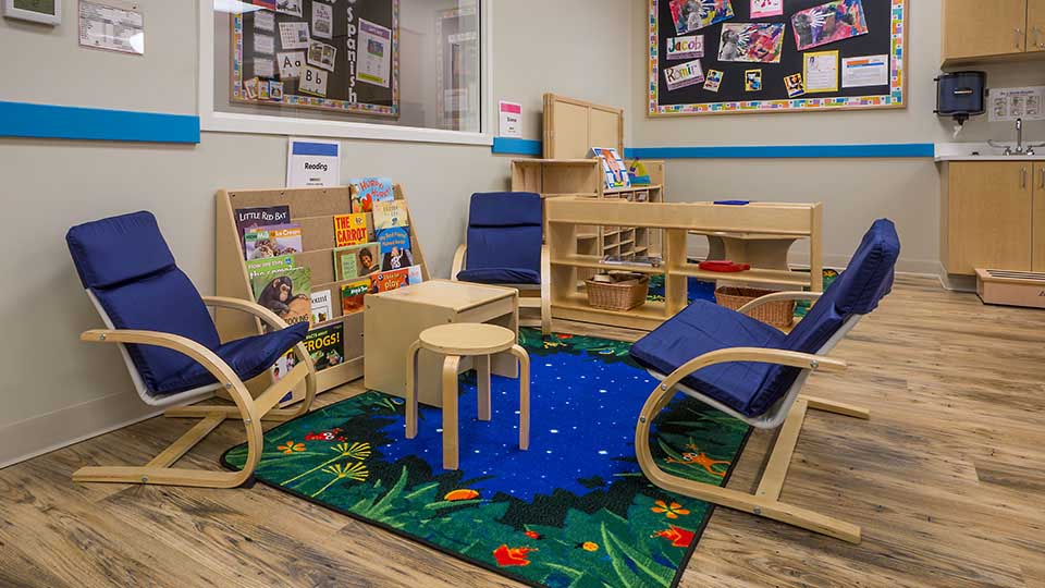 Classroom rugs, bruce flooring, rtr kids rugs, daycare design, day care center design, childcare design, child care design, child care centre design, child care interior design, child care architect
