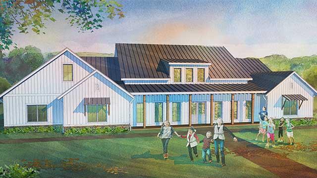 Farmhouse Style Child Care plans for sale