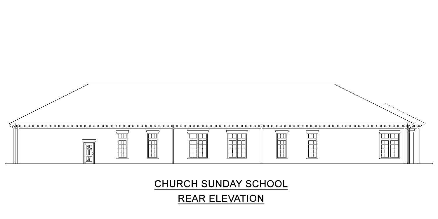 Church Sunday School plans for sale
